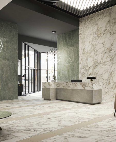 Anima Ever Luxury Arabesque 120x278/80x160/80x80; Anima Ever Sage Green 120x120; Join Wing 120x278; Be More Vap 30x60
